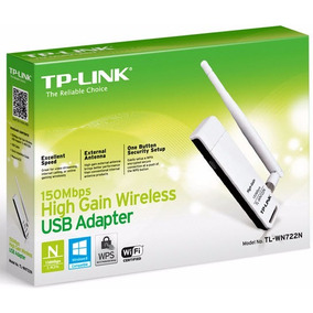 Adaptador Usb 150 Mbps Inalambrico Tl-wn 722n Tp-link Pc Ccc