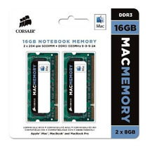 Corsair Certificado Por Apple 16gb (2x8gb) Ddr3 1333 Mhz (pc