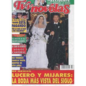 La Boda De Lucero Y Mijares En Tvynovelas. Revista De 1997
