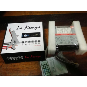 Reproductor Carro La Koonga Lkn 200 Cd/mp3/aux/sd