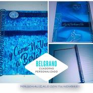 Belgrano Cuaderno Personalizado (espirales Plasticos)