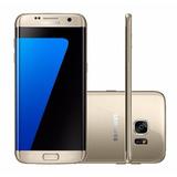 Samsung Galaxy S7 Edge 32gb Dourado Completo Lacrado Nota
