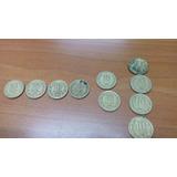 Monedas De 10 Pesos Angel , 81-82-86-87-88-89