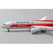 Miniatura Avião Jc Wings 1:400 Etihad Airways Boeing B 787-9