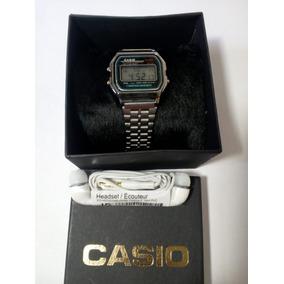 90834bb4e82 Relógio Cassio Prata Vintage - Relógios De Pulso no Mercado Livre Brasil