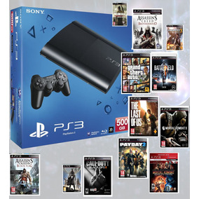 Play 3/1joys/1000gb/100juegos/hay Stock/nueva/no Chipeada!!!