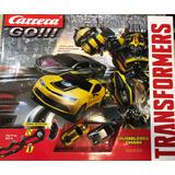 Autopista Carrera Go!! Esc 1:43 Transformers Bumblebee Chase