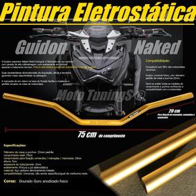 Guidão, Guidon Esportivo Ouro Cb300, Twister, Cg, Hornet Xre