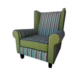 Sillón Sofa 1 Un Cuerpo Individual Nuevo Moderno Chenille B