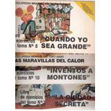 Libros De Ejercicios Topo Gigio Enciclopedia Mensual 12 Num
