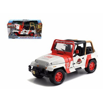 Jada Escala 1/24 Jeep Wrangler, Jp Staff. Jurassic World