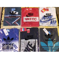 Pack De 3 Remeras Nike, Adidas, New Balance