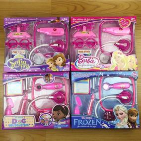 Kit Médica Barbie, Doutora Brinquedo, Frozen, Sofia