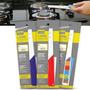 Kit C/6 Acendedores Fogão Mecânico Click Lume Color Sortidos