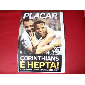 Corinthians Poster Placar Campeao Brasileiro 2017 Novissimo