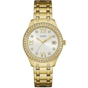 Relogio Guess Feminino Dourado W14043l1 - Joias e Relógios no ... aebafba715