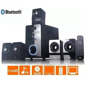Caixa Som Amplificada 5.1 Subwoofer Bluetooth Pc Tv Bivolt