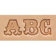 Estampador Letras P/ Piel Tandy Leather Factory Alphabet Art