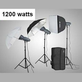 Mircopro Equipo De Iluminacion 1200 Watts Totales Mq400s