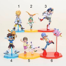 Action Figure Digimon 8 Personagens