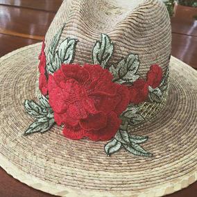 Sombrero Decorado Playa. Artesanal