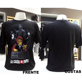 Camiseta La Casa De Papel, Loja Tribbos Store