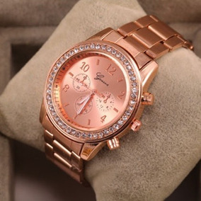 Lote De 10 Relojes Geneva Rl0031. Mayoreo