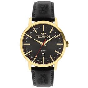 Relógio Masculino Pulseira De Couro Technos 2115mmi/4p