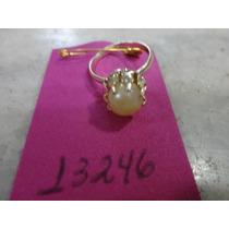 #13246 - Bijuteria Anel Com Pérolas Antigo, Aro 13!!!