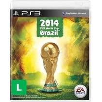 Jogo Copa Do Mundo Fifa 2014 Futebol Ps3