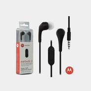 Auriculares In-ear Motorola Earbuds 2 Negro