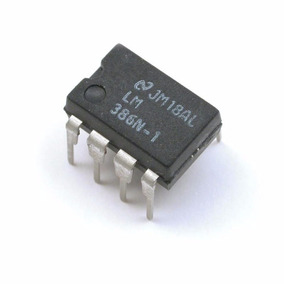 Paquete De 10 X Lm386 Amplificadores De Audio,aprender Elec.