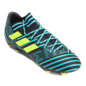 Chuteira Adidas Azul - Chuteiras Adidas de Campo para Adultos em ... e3a285bd7bce9