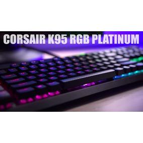Teclado Corsair K95 Platinum Rgb Mx Silver Esp - Rapidfire