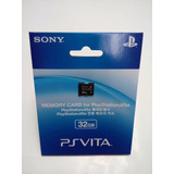 Sony Memory Card 32gb.-ps Vita