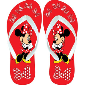 Chinelo Sandália Tipo Havaianas Mickey Minnie Lindo Oferta