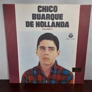 Vinil Lp Chico Buarque De Holanda Volume 3 Bom Estado 1968