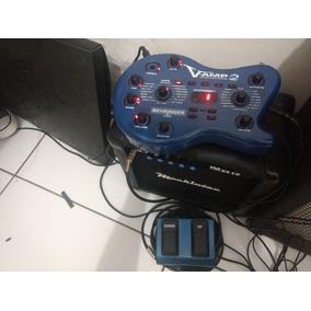 Amplificador Maxx 10 + Pedal V-amp