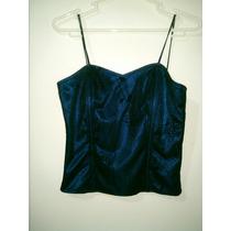 Vestido Noche Fiesta Azul Oferta Remate Cualquier Cosita