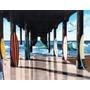 Muelle Señal De Madera 16 X 12 Pulgadas + Envio Gratis