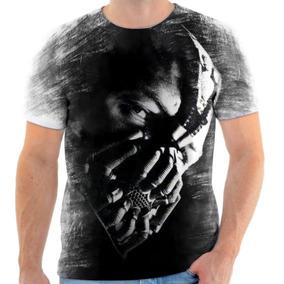 Camiseta Camisa Personalizada Bane Dc Batman Vilão Herói 4