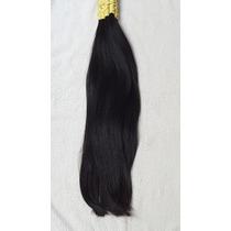 Cabelos Mega Hair De 55cm 50gr Liso Natural, Pontas Cheias.