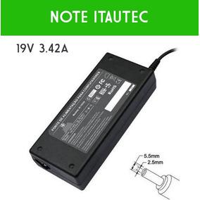 Fonte Carregador Notebook Itautec Infoway Note W7635 W7645