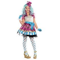 Disfraz Niña After High Madeline Hatter Incluye Peluca
