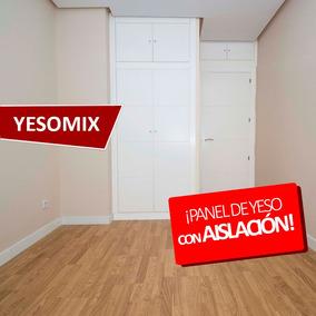 Placa Yeso Panel Antihumedad Aislante Frio Calor