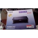Remate De Impresora Canon Pixma E402 Inkjet Multifuncional
