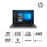 Laptop Hp Amd A9-9420 4gb Y 1tb - Nuevo
