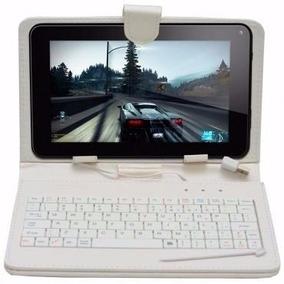 Tablet 7´´ Quadcore Wifi 8gb 2 Câmer Andr 4.4 + Capa Teclado