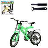 Bike Brinquedo Mini Bicicleta De Dedo Com Acessórios