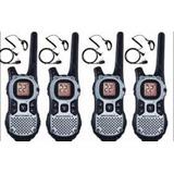 Kit 8 Radio Comunicador Motorola Talkabout Mj270 Com Fone